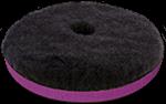 "ZviZZer ""Doodle"" Wool-Pad, black 15 mm 135/25/135"