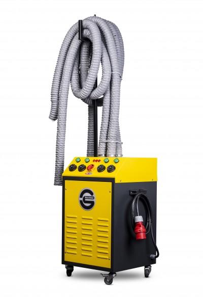 Heißluftgenerator - Oktopus