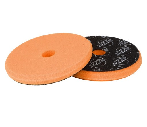 "ZviZZer 145/15/125 mm Polierpad ""Trapez"" orange medium"