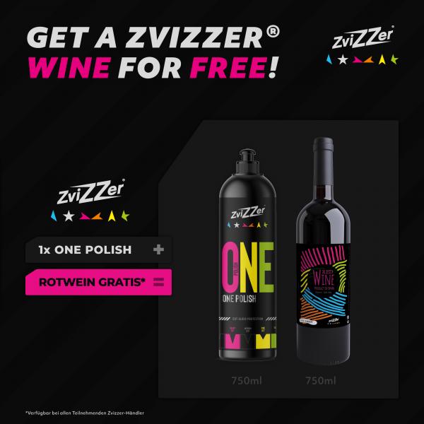 MA ZviZZer One Polish 750ml + FREE WINE