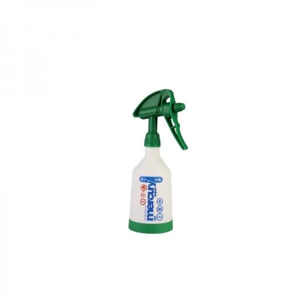 Mercury Super PRO+ 360 Grad VITON grün Sprühflasche 0,5 Liter
