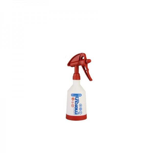 Mercury Super PRO+ 360 Grad VITON rot Sprühflasche 0,5 Liter