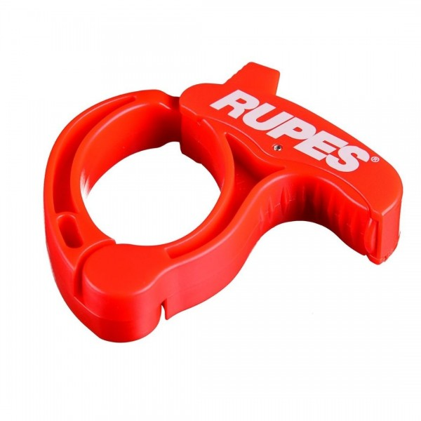 Rupes Cable Clamp Kabelhalter rot für Poliermaschinen